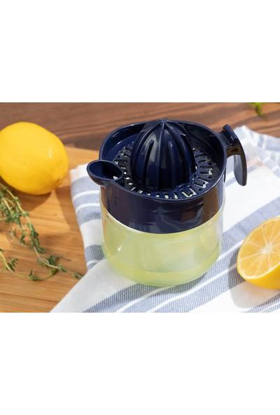 English Home Hera Cam Limon Sıkacağı 300 ml Lacivert