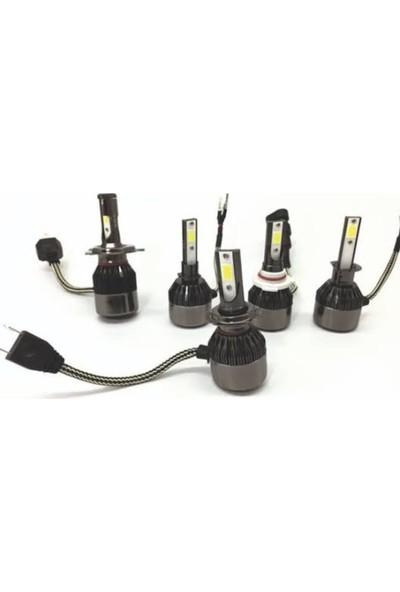 Mach LED Xenon H7 Far Ampulü Şimşek Etkili 36W 6400 Lm Beyaz Işık