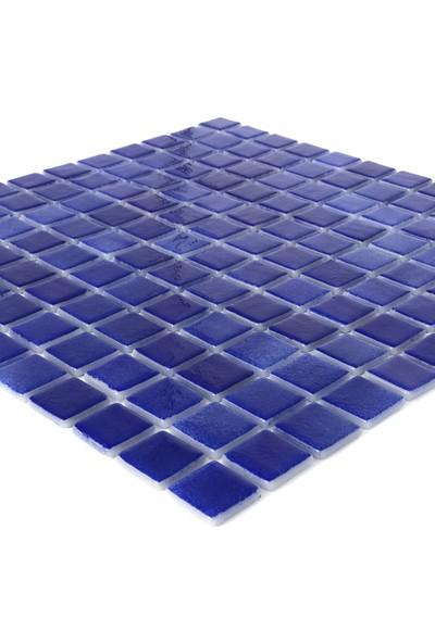 Orient Havuz Için 25X25 Cam Mozaik