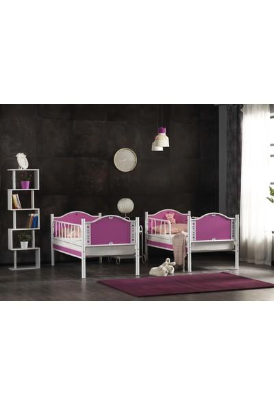 Argimo Baby Çocuk Odası Metal Ranza