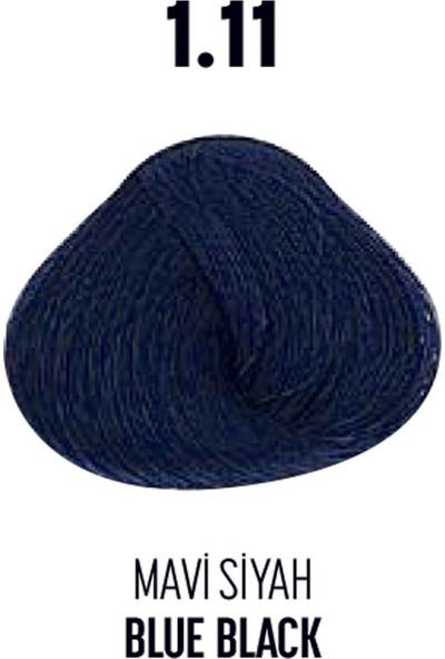 Bioplex 1.11 / Mavi Siyah Blue Black - Glamlook Saç Boyası