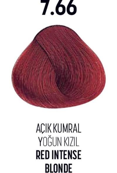 Bioplex 7.66 / Açık Kumral Yoğun Kızıl Red Intense Blonde - Glamlook Saç Boyası