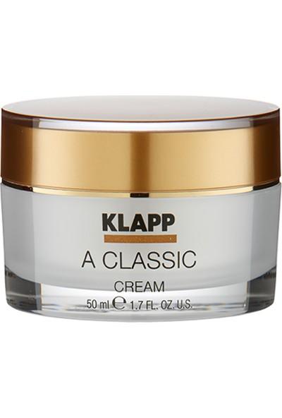 Klapp A Classic Cilt Onarıcı Yaşlanma Karşıtı Yüz Kremi 50 ml