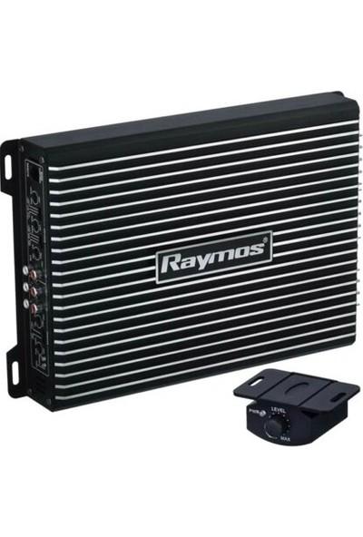 Raymos USA70.4 4 Kanal 4000W Bass Kontrol Oto Amfi