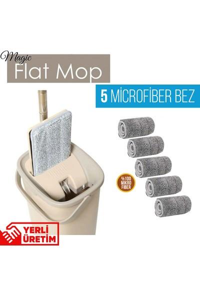 Spin Magic Flat Tablet Mop Yeni Nesil Temizlik Seti 5 Bezli