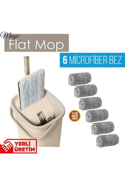 Spin Tablet Mop Yeni Nesil Temizlik Seti 6 Bezli