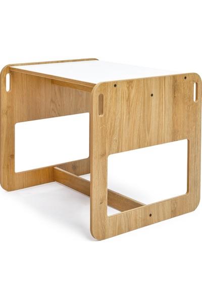 Minera 2-4 Yaş Kumru Çocuk Oyun Masası ve Sandalyesi Seti