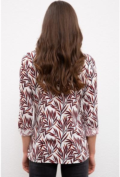 U.S. Polo Assn. Kadın Beyaz Gömlek Uzunkol 50226437-VR019