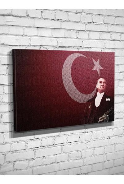 Atatürk Kanvas Tablo 24