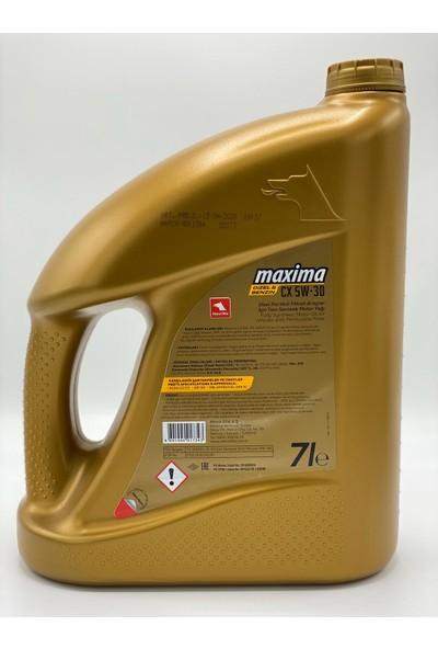 Petrol Ofisi Maxima Cx 5W30 Partiküllü Motor Yağı 7 lt (Üretim yılı :2020)