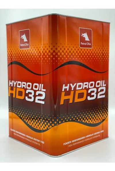 Petrol Ofisi Hydro Oil Hd 32 Hidrolik Sistem Yağı 17 lt