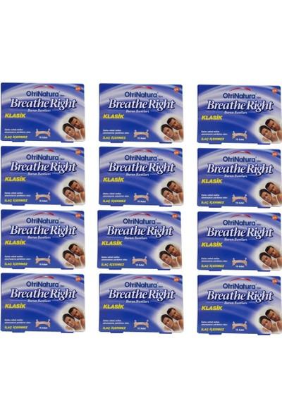 Breathe Right Burun Bandı Normal Boy 10 Adet 12'li Paket