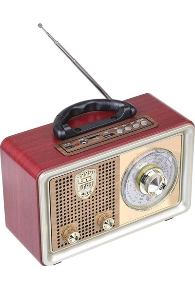 Everton RT-851 Bluetooth/usb/sd/aux/fm Nostalji Müzik Kutusu