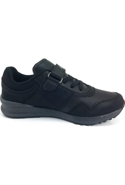 Kinetix Huber Günlük Çocuk Spor Ayakkabı Siyah