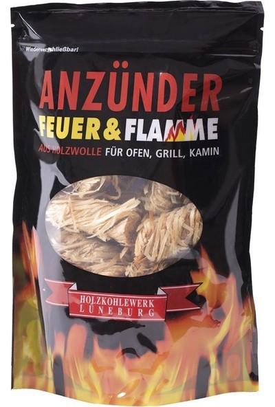 Feuer & Flamme Mangal Kömürü Tutuşturucu Ahşap Yünü 300 G.