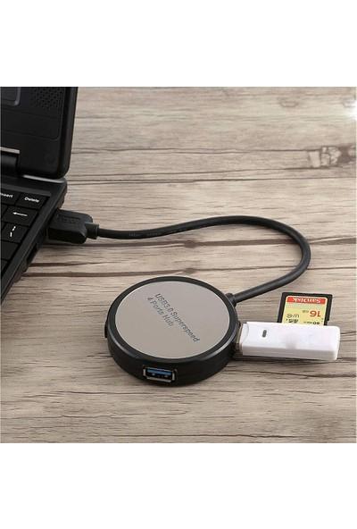 Coverzone BYL-1811 4-Port USB Hub Çoklayıcı Çoğaltıcı Switch Splitter