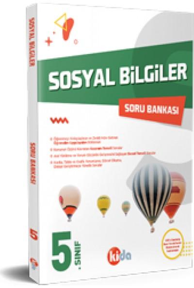 Kida Yayınları 5. Sınıf Sosyal Bilgiler Soru Bankası