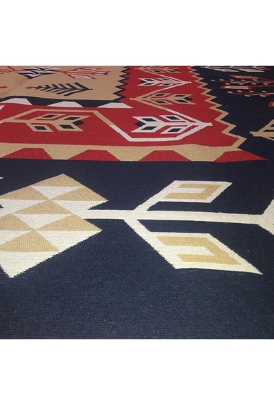 Voho Tekstil Çift Taraflı Başak Desen Kilim Yolluk - Voho Tekstil