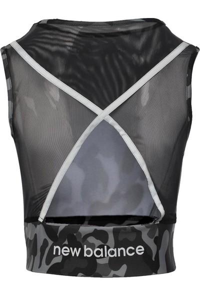New Balance Kadın Siyah Bra Spor Sütyeni WPB011-BK
