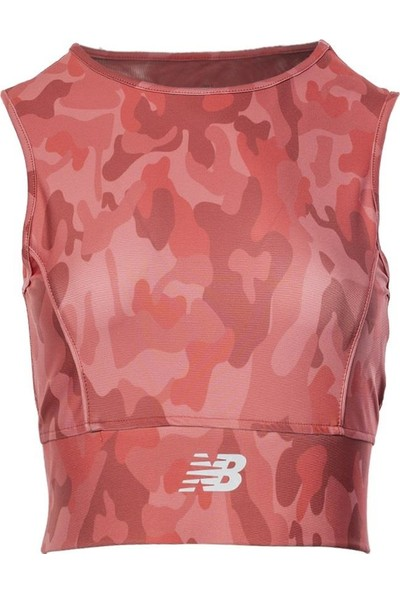 New Balance Kadın Gül Kurusu Bra Spor Sütyeni WPB011-PNK