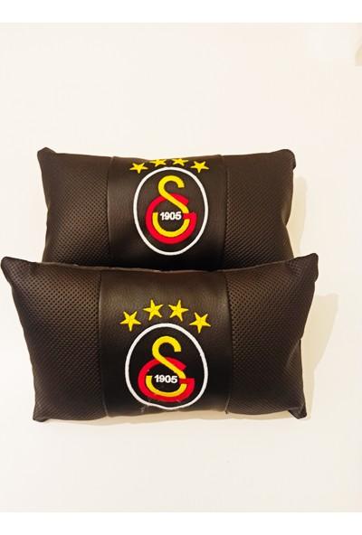 S&S Galatasaray Taraftar Seyahat Boyun Yastığı ve Kemer Pedi Takımı Nakışlı