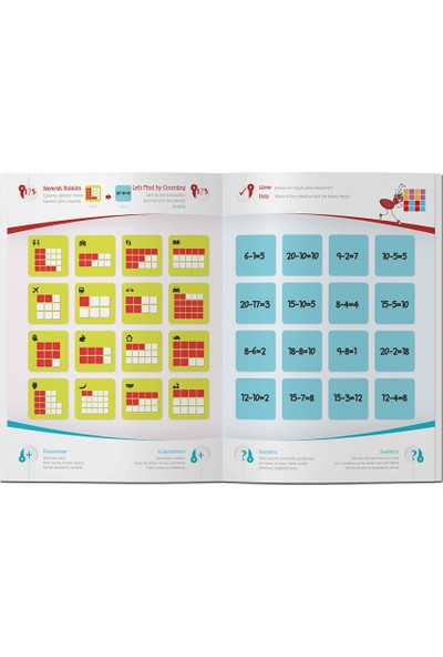 Çocuk Akademi 6-7 Yaş Zihinsel Gelişim ve Dikkat Güçlendirme Eğitim Seti