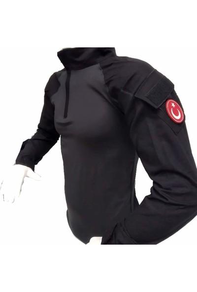 Istikamet Siyah Operasyon Tactical Combat Tişört