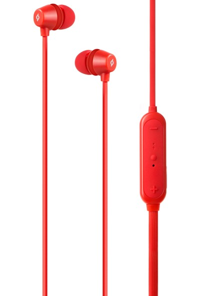 Ttec 2KM120K Soundbeat Prime Kablosuz Bluetooth Kulak Içi Kulaklık Kırmızı