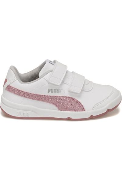 Puma Stepfleex 2 Sl Ve Glitz F Beyaz Kız Çocuk Koşu Ayakkabısı