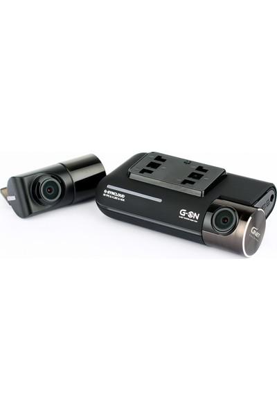 GNet G-On 2 Kamera Fhd 60 FPS Wi-Fi Online Kullanılabilen Araç İçi Kamera