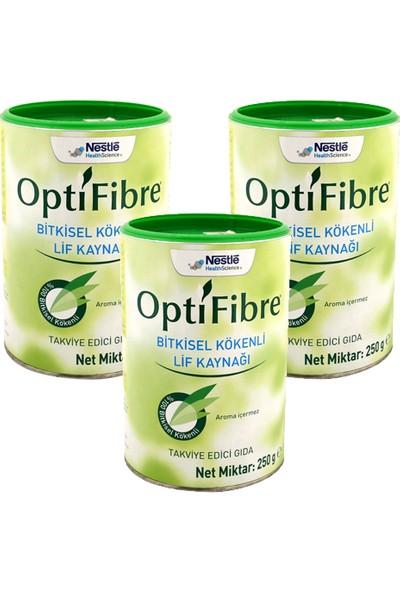 Nestle Optifibre 250 gr x 3 Adet Set 750 gr