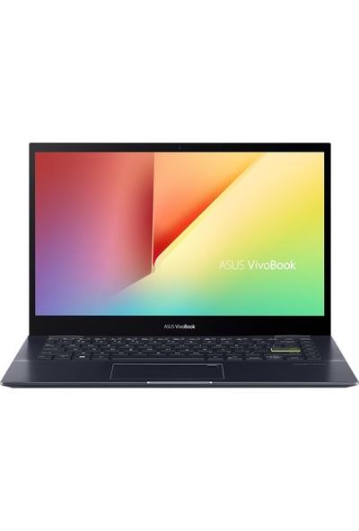 "Asus VivoBook Flip 14 TM420IA-KM100A5 AMD Ryzen 3 4300U 8GB 256GB SSD Windows 10 Home 14"" FHD Taşınabilir Bilgisayar"