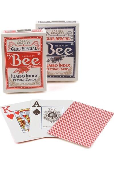 Bee Jumbo Index Playing Cards Bee Jumbo Poker Oyun Kartı 2'li
