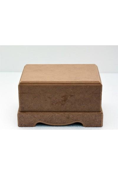 Baykon Mdf Düz Takı Kutusu Küçük 14X10 cm