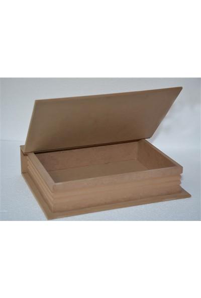 Baykon Mdf Kitap Kutu Yeni (Büyük) 35X27 cm