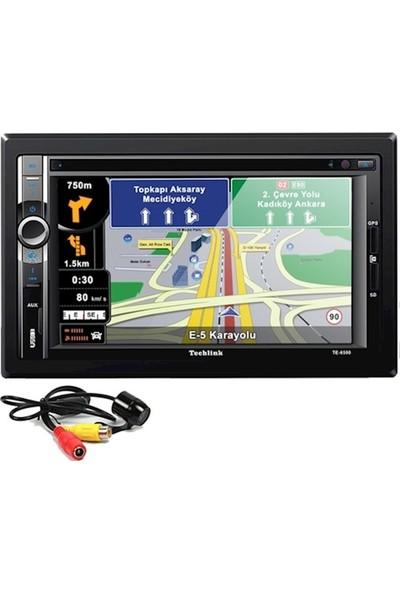 Techlink TE-6500 Navigasyon DVD USB SD Double Teyp + Kamera