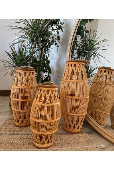 Milena Home Bambu Fener Mumluk Seti