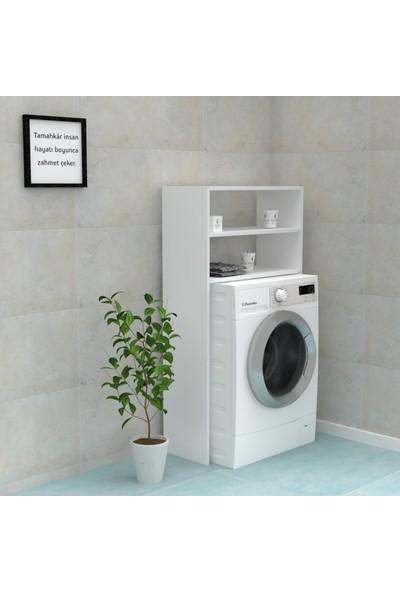 Kenzlife Çamaşır Makinesi Dolabı Akulina Byz 130*066*20 Banyo Ofis