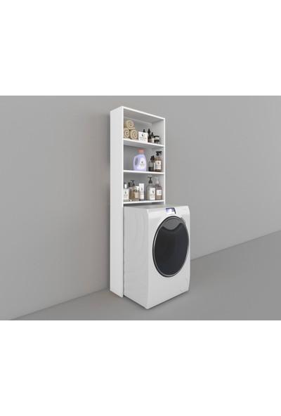 Kenzlife Çamaşır Makinesi Dolabı Lida Byz 180*066*20 Banyo Ofis