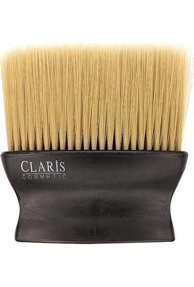 Claris C-20211 Yassı Ense Fırçası Doğal Kahve