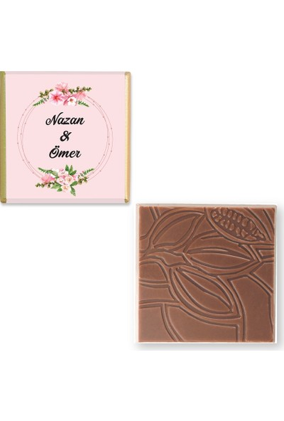 Valonia Dila Çikolata Söz Nişan Çikolatası (50 Madlen ve Draje)