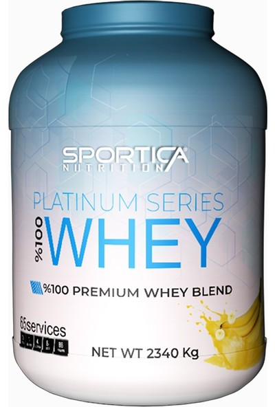 Sportica Nutrition Whey Protein Platinium Series 2340 gr