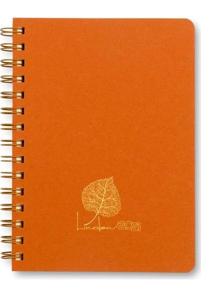 Keskin Color Linden Günlük Ajanda 14 x 20 cm Turuncu