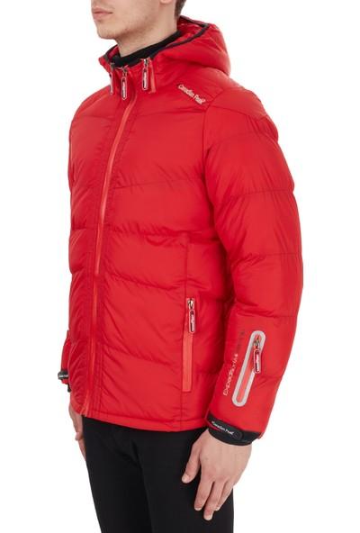 Canadian Peak Kapüşonlu Soğuğa Karşı Dirençli Outdoor Erkek Parka Cantello