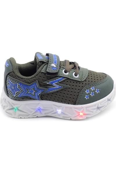 Kids World Toddler Işıklı Erkek Çocuk Bebek Spor Ayakkabı