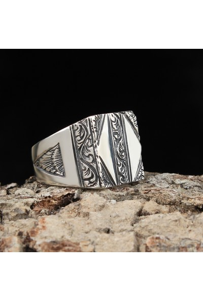 Tesbihevim 925 Ayar Gümüş Yüzük