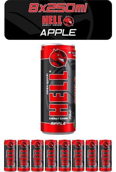 Hell Enerji Içeceği Elma 250 ml x 8'li