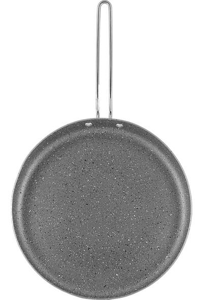 Kadı Kızı 28 cm Granit Krep - Gri