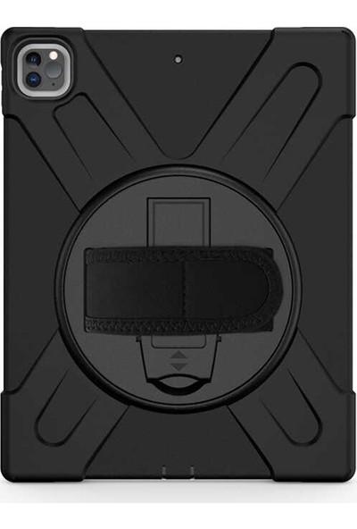 Case Street Apple iPad Pro 11 2020 11 İnç Kılıf Defender Tablet Tank Koruma Standlı Siyah