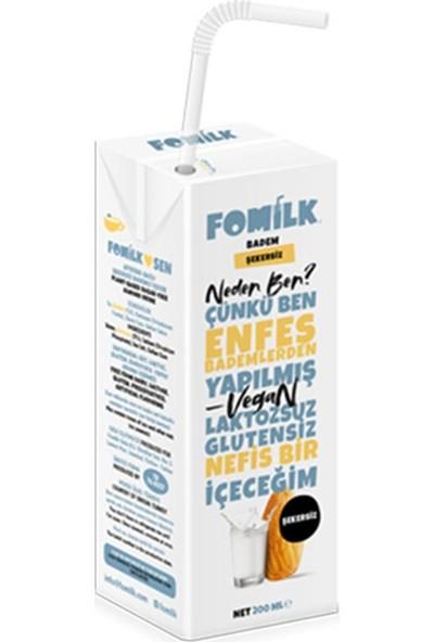 Fomilk Şekersiz Badem Sütü 200 ml